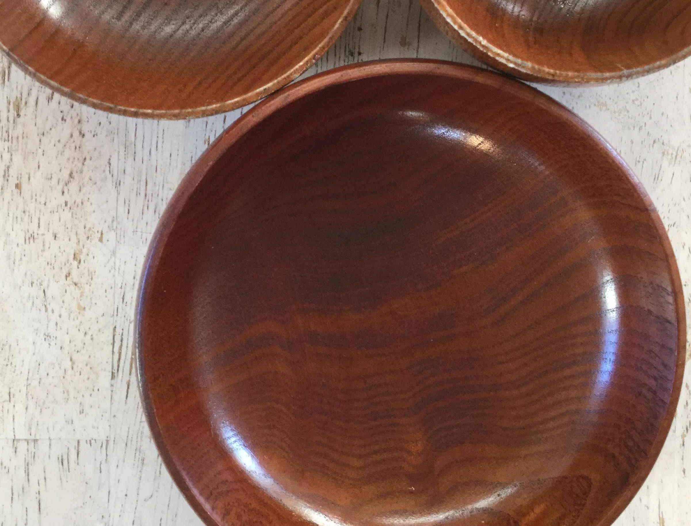 木の食器のチェックポイント
