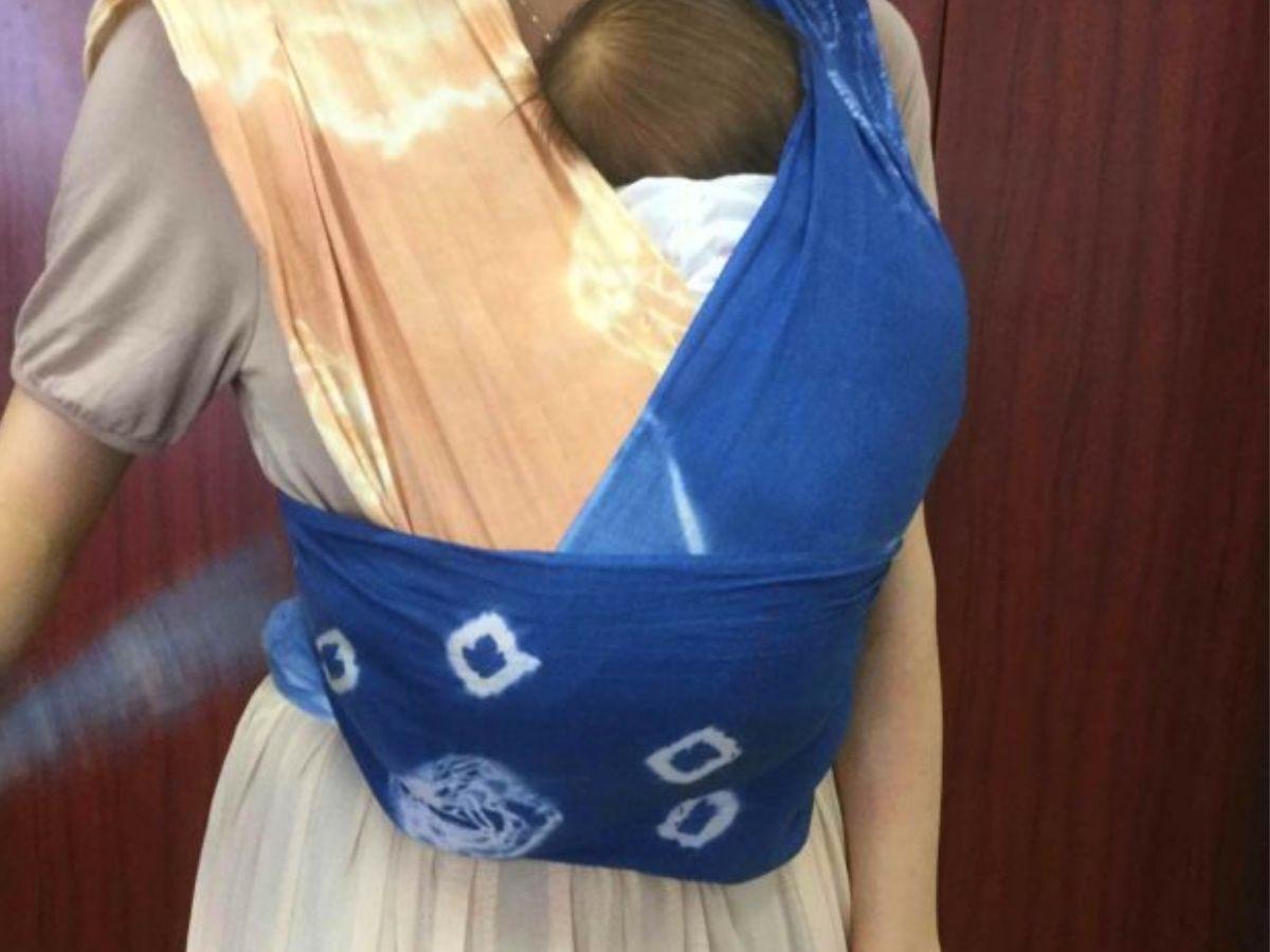 新生児におすすめのスリング(&動きやすい抱き方)