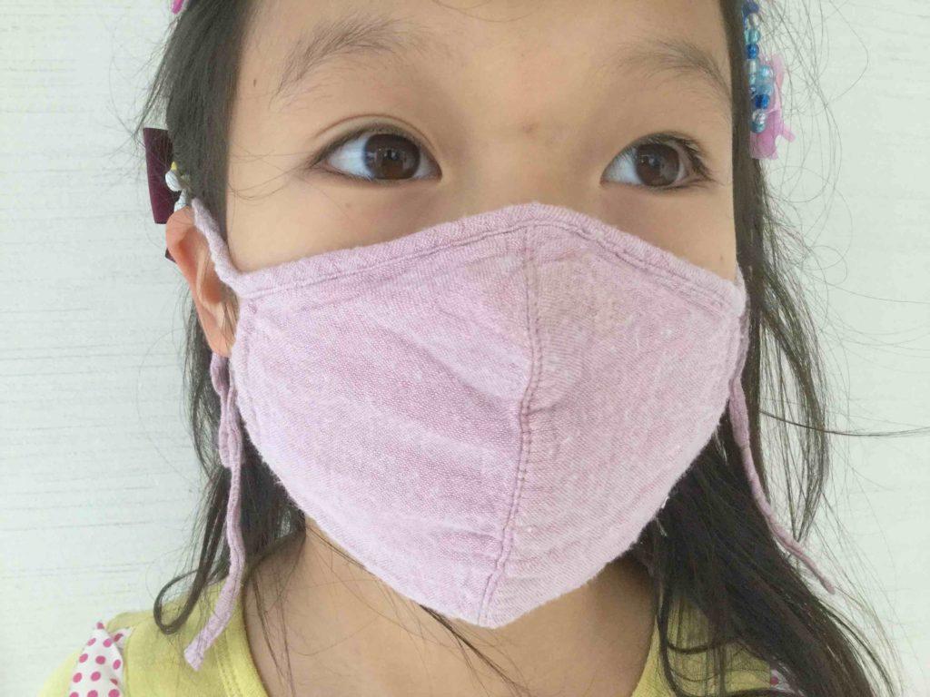 ハンカチマスク、耳にかけない布マスク、なんでもマスク:簡単手作りマスクいろいろ♪